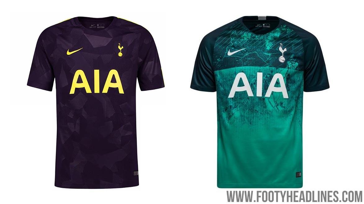 best sneakers 96cd2 a39d6 Nike Tottenham Hotspur 19-20 Third Kit Design Info + Socks ...