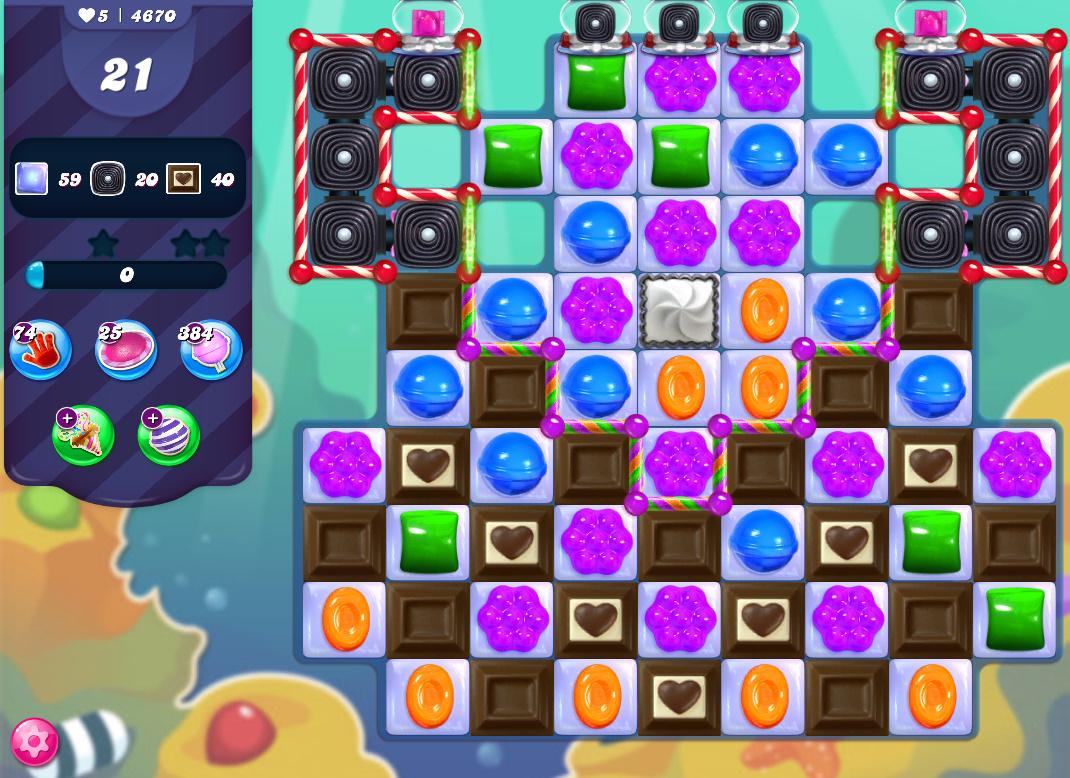 Candy Crush Saga level 4670