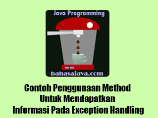 method exception handling java