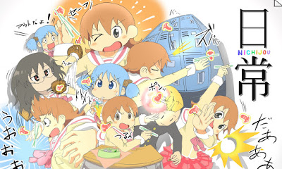Download Nichijou BD Subtitle Indonesia