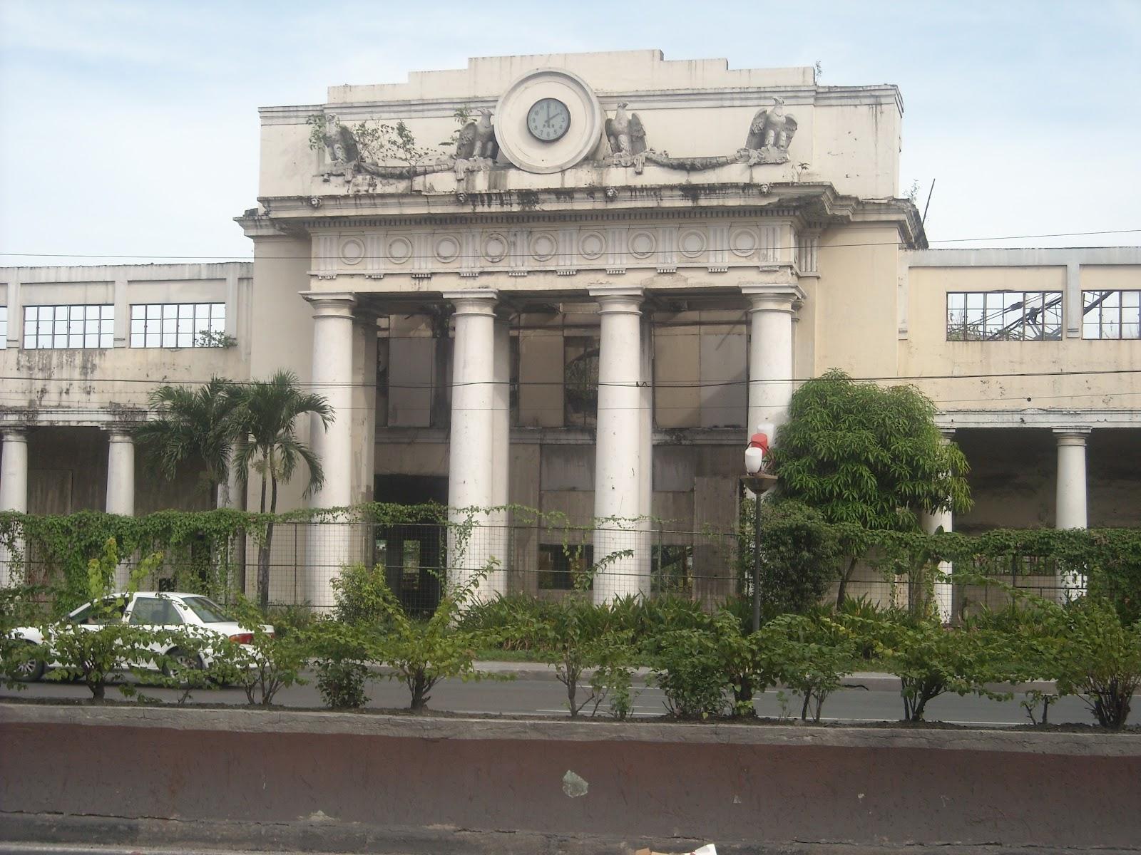 Railway Stations Philippines Manila Old Paco Railway Station