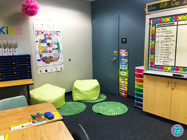 The Creative Colorful Classroom Flexible Seating In The
