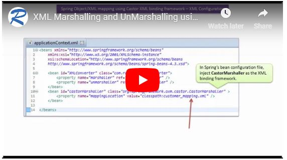 JAVA EE: How to convert Object to XML(XML Marshalling) and