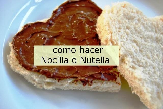 Como hacer Nocilla o Nutella Casera