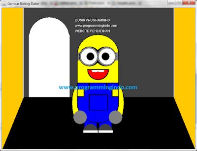 Cara Membuat Gambar Minion 2D dengan Menggunakan Netbeans - Dunia Programming