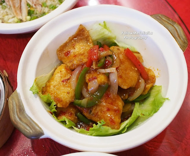Stir-Fried Szechuan Style Fish Fillet