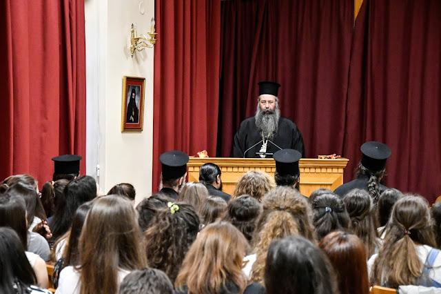 Εορτασμός της μνήμης του Αγίου Μελετίου Επισκόπου Κίτρους - Σκέψεις και προβληματισμοί του Σεβασμιότατου Μητροπολίτη κ. Γεωργίου