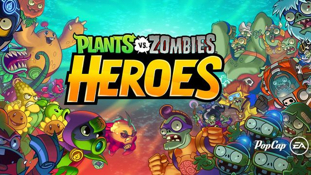 Preview Game Plants Versus Zombie HEROES – Versi Terbaru