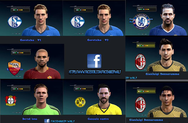 PES 2013 Facepack V 3 by Facemaker Waly