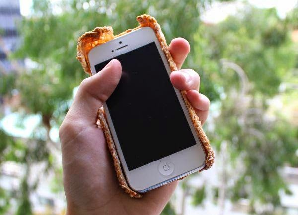 Edible iPhone case: