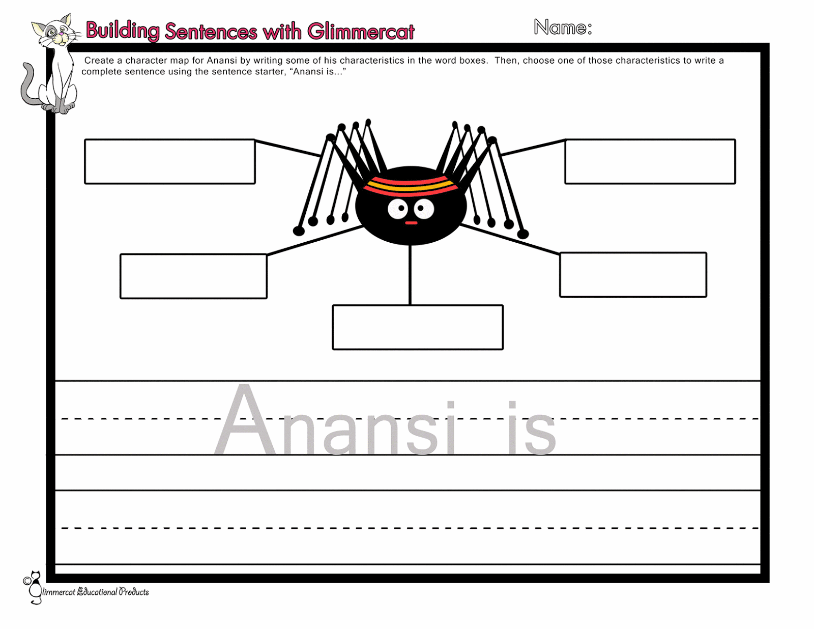 Fabulous image throughout printable anansi stories