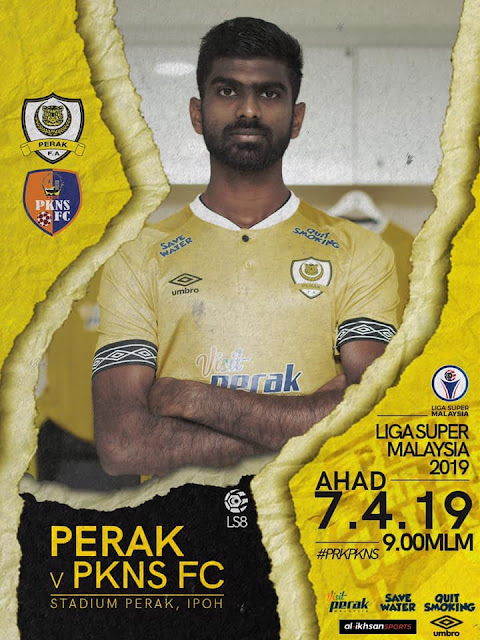 Live Streaming Perak vs PKNS FC Liga Super 7.4.2019