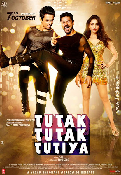 Poster Of Tutak Tutak Tutiya 2016 480p Hindi pDVDRip Full Movie Download