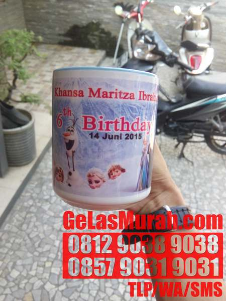 GELAS UNIK BERUBAH WARNA JAKARTA