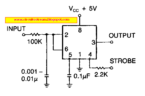 Build a Low Cost Line Receiver Circuit Diagram