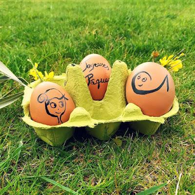 agathe, dessin, illustration, joyeuses pâques, oeuf, oeuf de pâque, oeufs, poule,