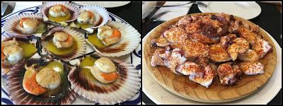 Restaurante mar de Fondo. Laxe. Galicia