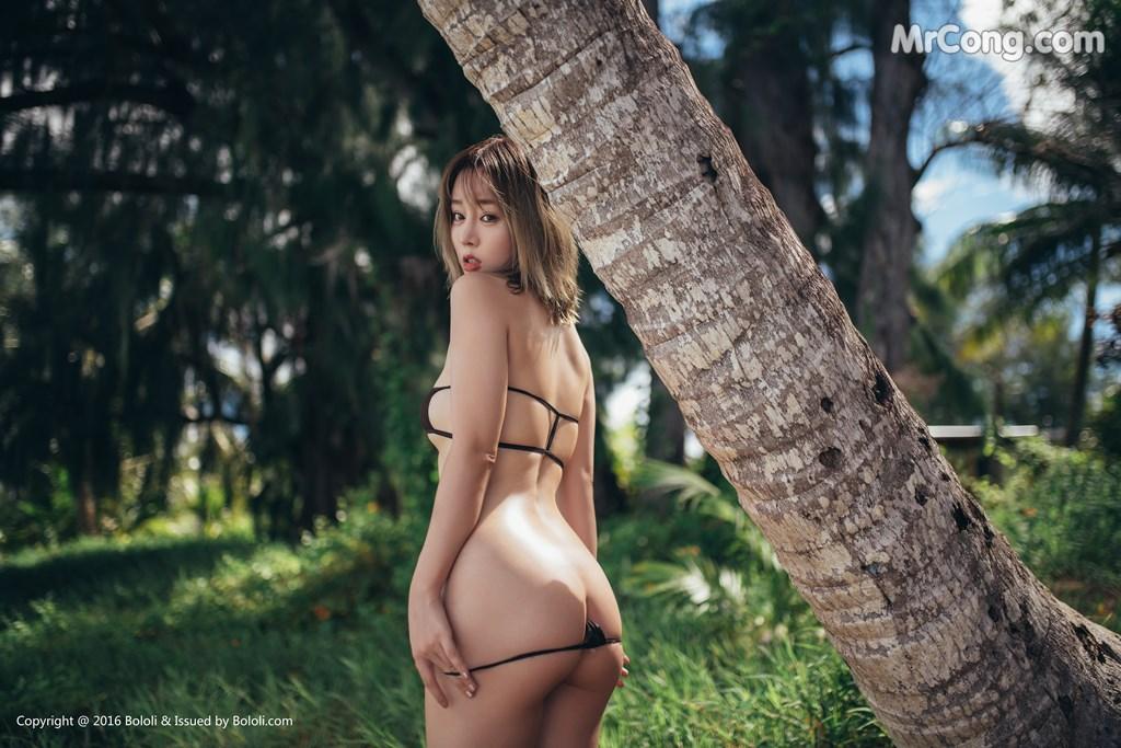 Image Bololi-2017-10-30-Vol.124-Wang-Yu-Chun-MrCong.com-006 in post Bololi 2017-10-30 Vol.124: Người mẫu Wang Yu Chun (王雨纯) (39 ảnh)