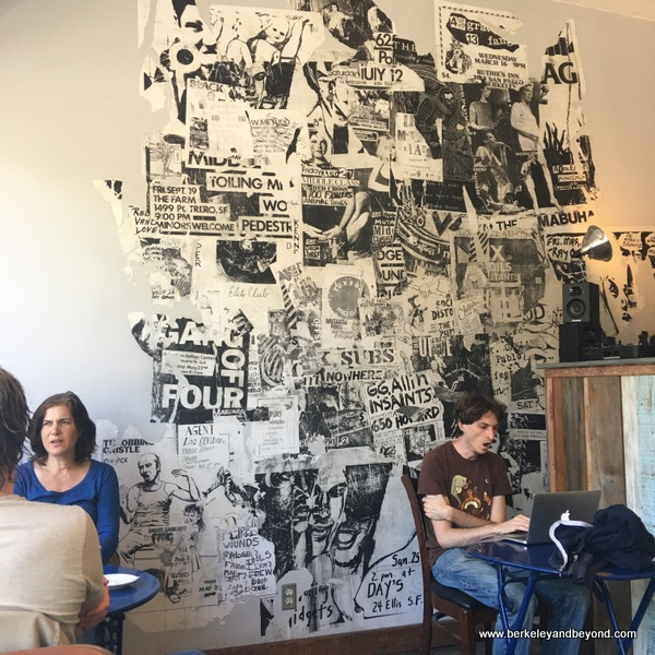 interior of Coffee Conscious in Berkeley, California