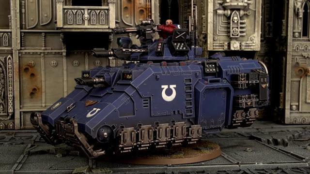 Games Workshop: New Primaris Space Marine Repulsor Grav Tank