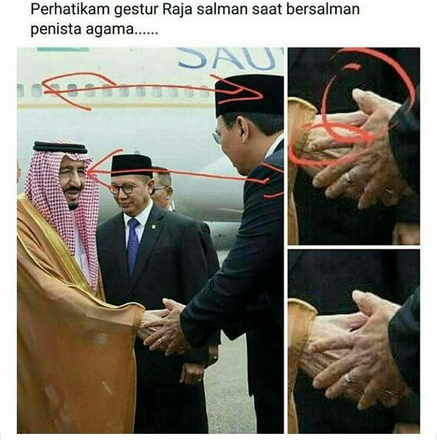 TERUNGKAP!! Rahasia Dibalik Jabat Tangan Ahok dengan Raja Salman, Perhatikan