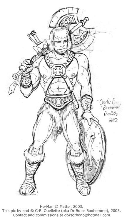 Colorir e Pintar: He-Man