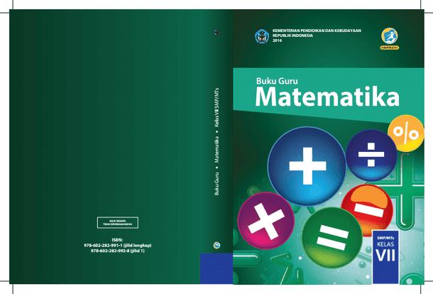 Buku Guru dan Buku Siswa Kelas VII Kurikulum 2013 Edisi Revisi Tahun 2016