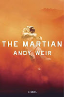 The Martian by Andy Weir (Book cover)
