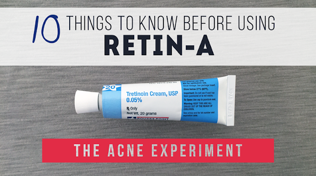 10 Things to Know Before Using Retin-A (Retinoids) :: The Acne Experiment