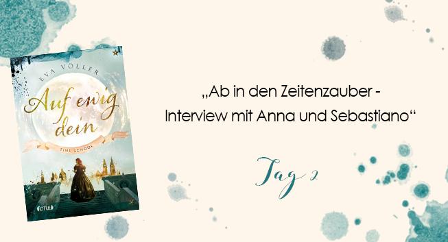 Blogtour Ab In Den Zeitenzauber Interview Mit Anna Und