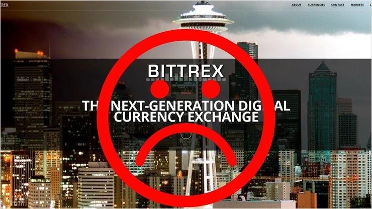 Биржа Bittrex закрывает двери