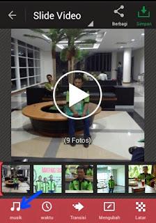 Cara membuat video photo menggunakan hp android