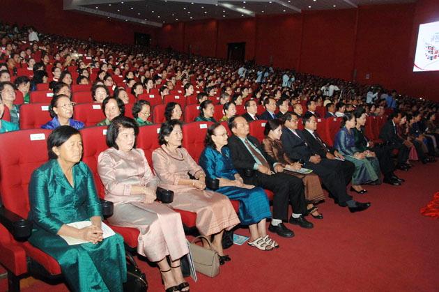 Cambodge - Journée internationale de la femme