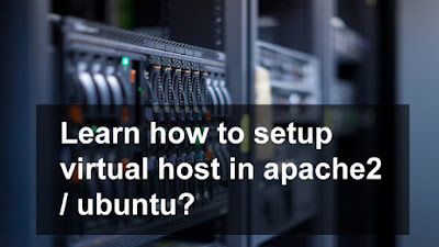 How to setup virtual web hosting and host multiple sites on one server ? [ In two minute ] : Intelligent computing