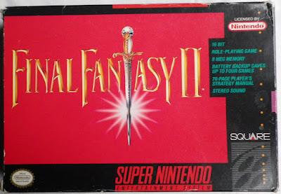 Final Fantasy IV - Caja delante