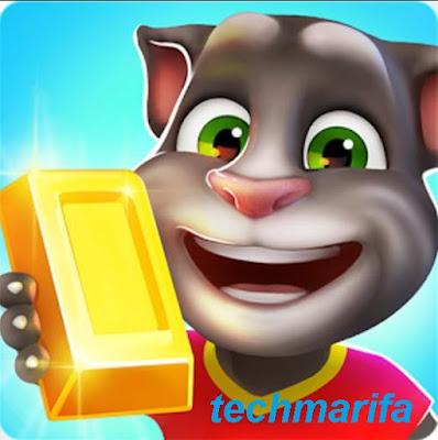 تحميل لعبة ملاحقة القط المتكلم توم للذهب
