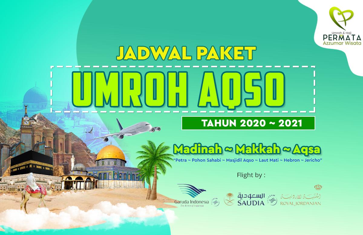Biaya Paket Umroh Plus Aqsa Petra sahabi 2020 - 2021