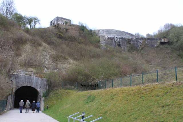 Entrée du tunnel de la Coupole