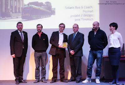 Dariusz Michalak oraz Jens Timmich odbierają nagrodę