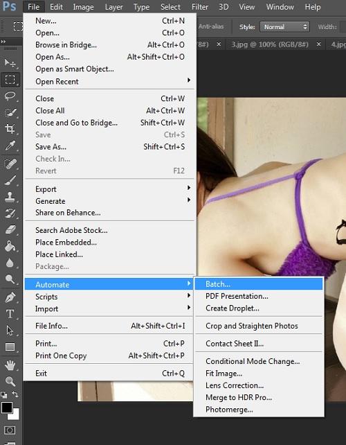 Hướng dẫn resize hàng loạt ảnh bằng phần mềm photoshop-7
