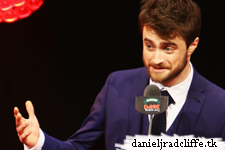 Empire Awards 2015: Daniel Radcliffe presents with James McAvoy
