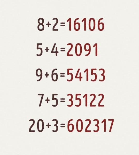 Si puedes resolver esta ecuación, entonces realmente eres UN GENIO