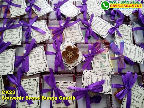 Toko Souvenir Bross Bunga Cantik