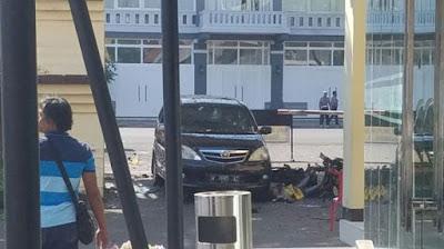 Mako Polrestabes Surabaya Dibom Senin Pagi, Pelaku Ledakkan Diri Saat Dicegat Polisi