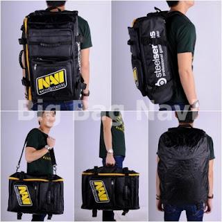 Gaming Bag - Tas  Gaming BIGBAG Backpack - Navi