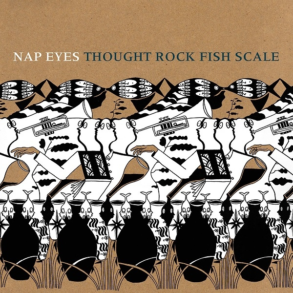 disco NAP EYES - Tought rock fish scale