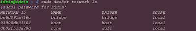 Belajar Network Dasar di Docker
