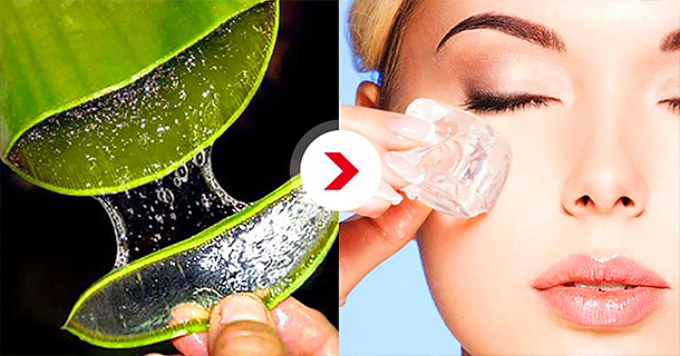 Apply Frozen Aloe Vera On Your Skin The Result Is Amazing!