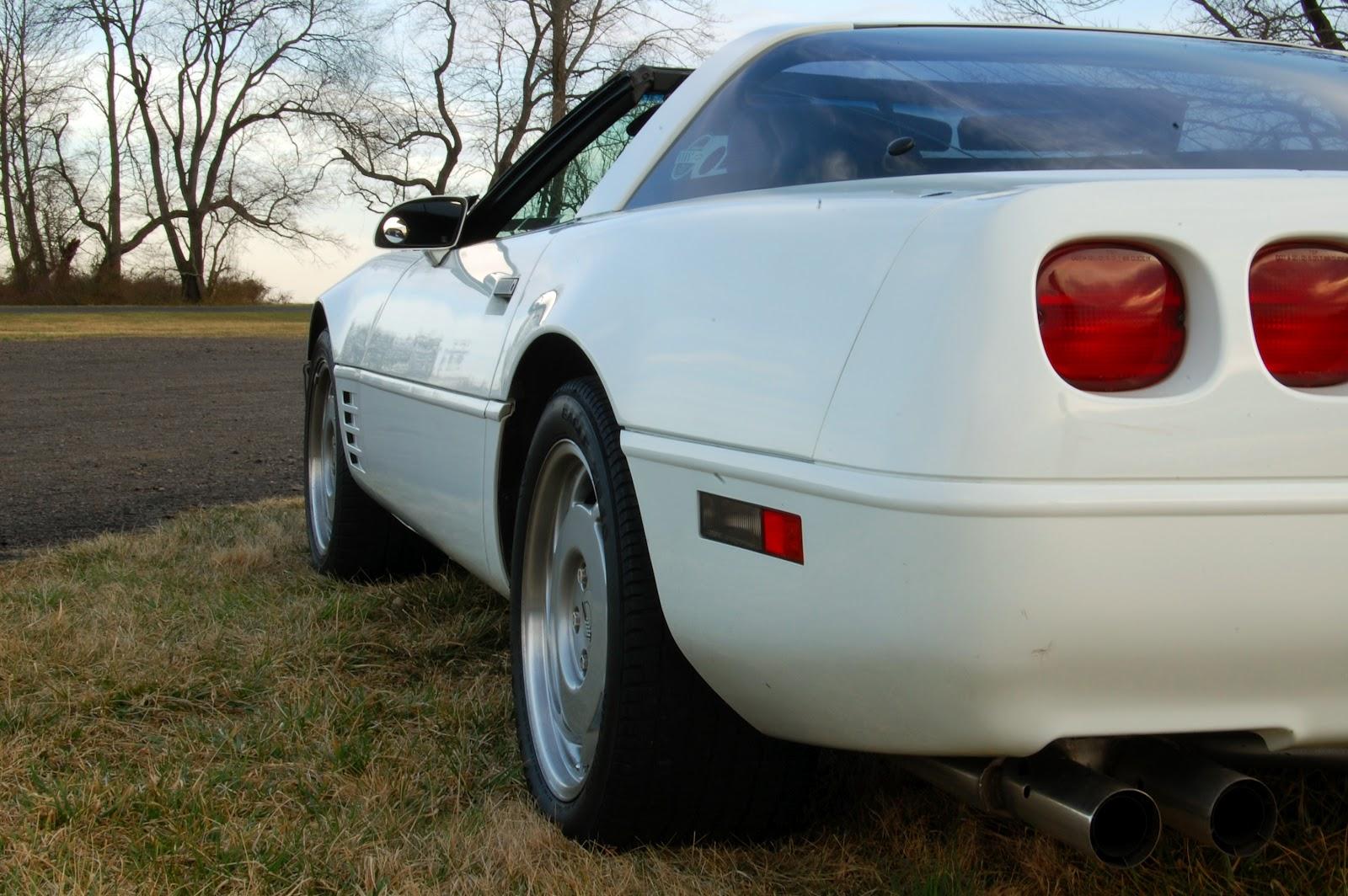 Lexi Laron: Tim's '91 C4 Corvette