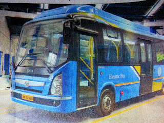 Electric bus in West Bengal, Electric Bus